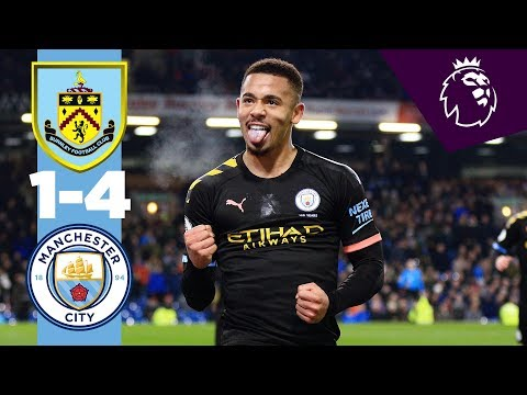 HIGHLIGHTS | BURNLEY 1-4 MAN CITY | Jesus (2), Rodri, Mahrez
