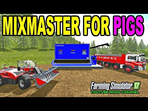 Feed The Pigs Farming Simulator 2017 Mods