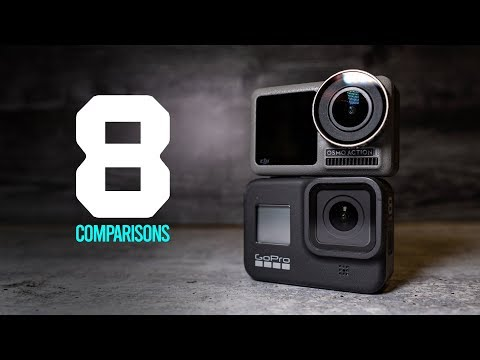 GoPro Hero 8 vs DJI Osmo Action - 8 User Experience Comparisons