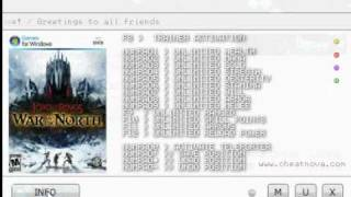 Lord of the Rings - War in the North trainer mediafire work 100%