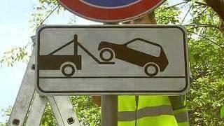 в столице начали устанавливать знаки