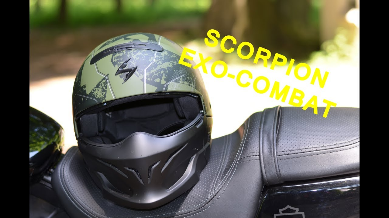 Présentation Scorpion Exo Combat Youtube