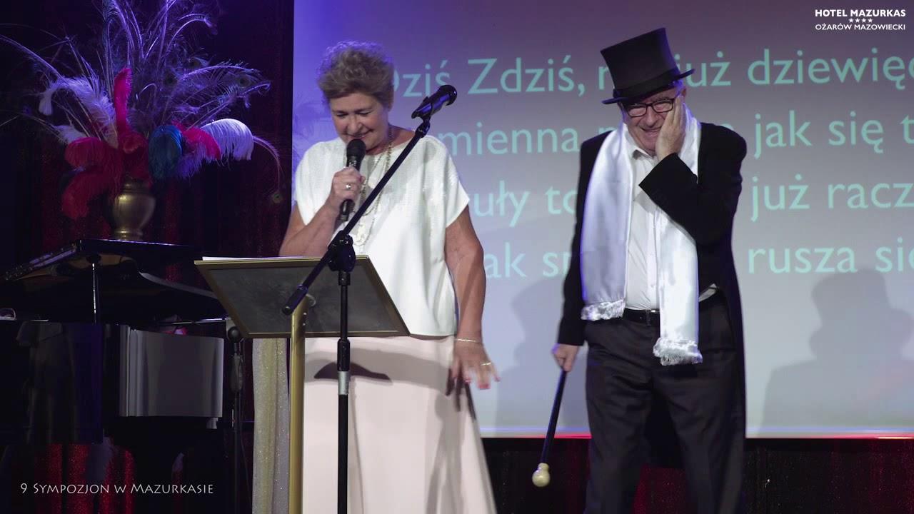 9 Sympozjon w Mazurkasie - Irena I Andrzej Bartkowscy -wiersz dla solenizanta