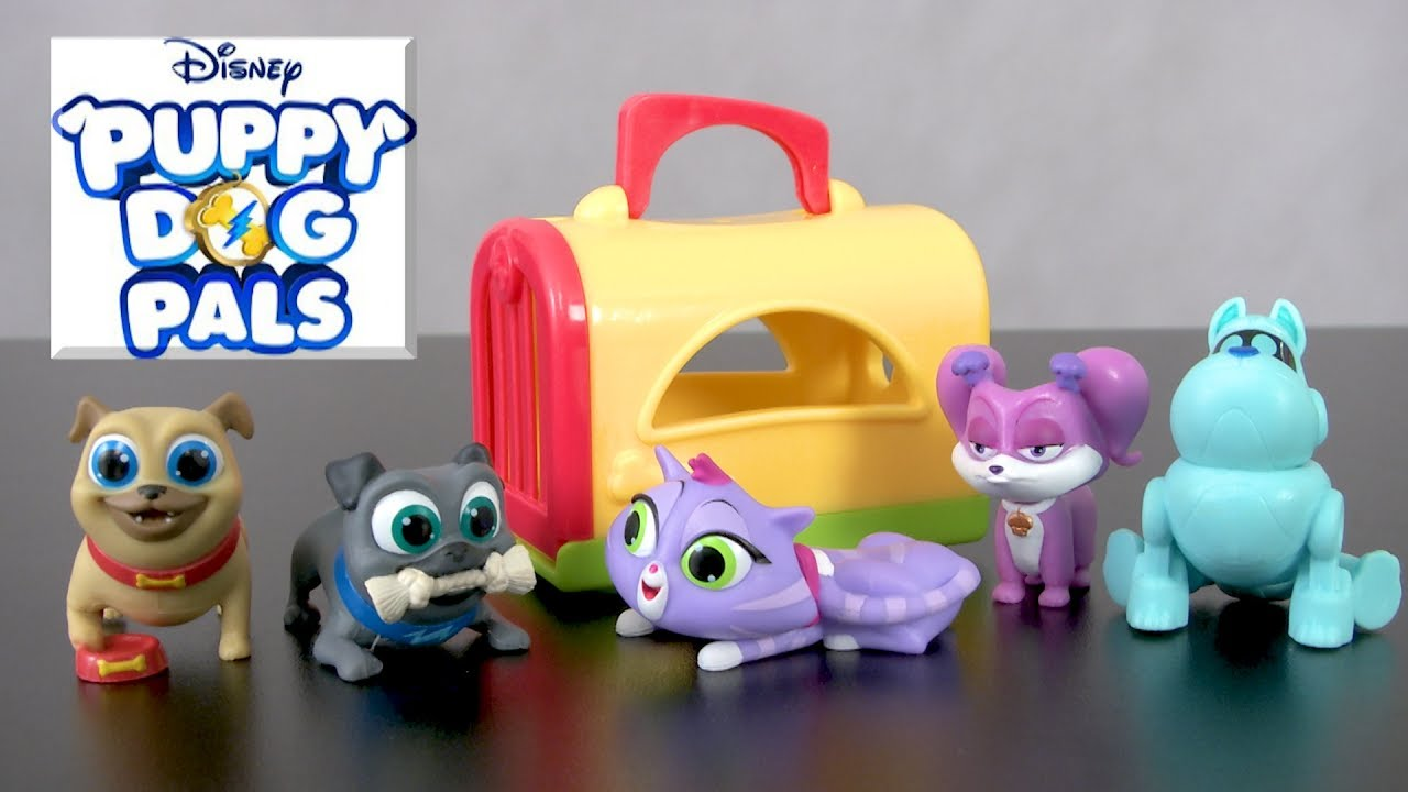 Puppy Dog Pals Travel Pets Series 1 From Just Play Youtube