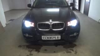 BMW X6 E71 ta'mirlash headlamp almashtirish shisha + bu headlights bo'yash ichki dan
