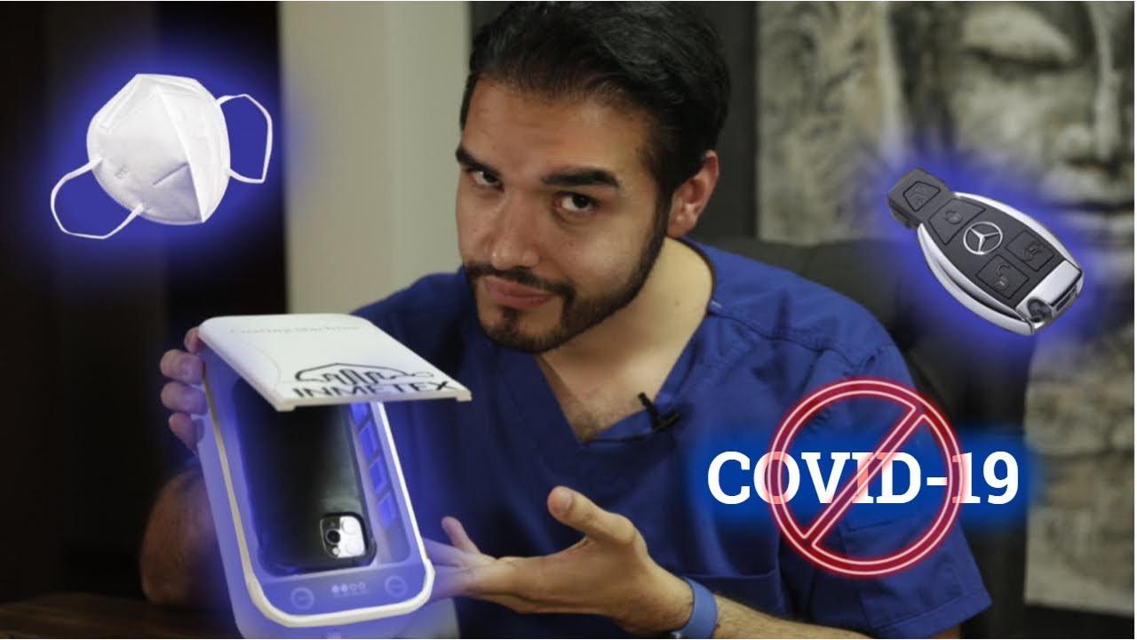 ESTA MÁQUINA DESINFECTA TODO | COVID19 | DOCTOR VIC