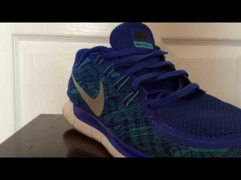 93aa6514eee76 HOW TO LOOSE LACE NIKE FREE 5.0 RUNNING SHOES - YouTube
