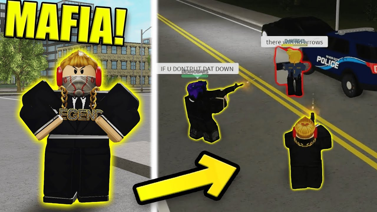 I Was Forced To Join The Mafia Roblox Liberty County Roleplay