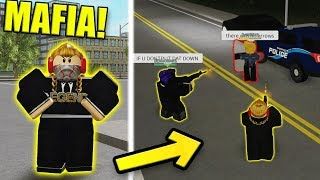 I was FORCED to join the MAFIA! | Roblox Liberty County Roleplay #1 (CRIMINAL)