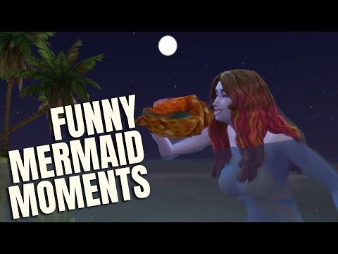 SHOCKING MERMAID STORY - The Sims 4 Island Living - Funny Mermaid Moments