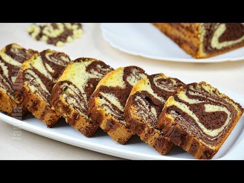 Chec pufos cu cacao | Chec marmorat (CC Eng Sub) | JamilaCuisine