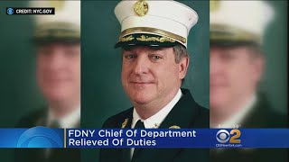 FDNY Chief Of Department Relieved Of Duties