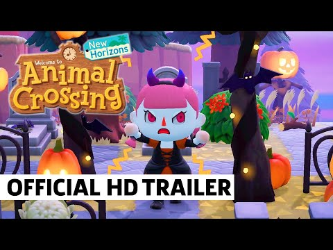 Animal Crossing: New Horizons - Halloween Fall Update Trailer