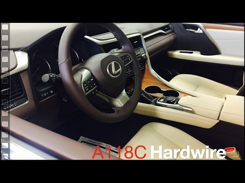 How to Hardwire & Install VIOFO A118C Dashcam on a 2017 Lexus RX350 L