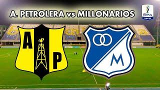 ALIANZA PETROLERA (4) 2 - 2 (3) MILLONARIOS. Copa BetPlay 2020