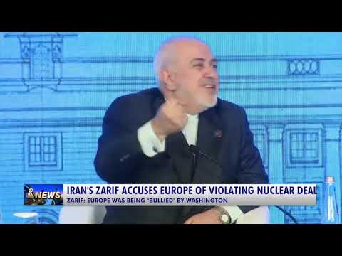Iran's Zarif accuses Europe of violating nuclear deal