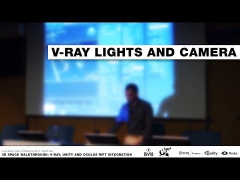 3D walkthrough | V-Ray, Unity and Oculus Rift (part 1)