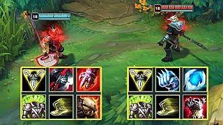 DARIUS vs NASUS FULL BUILD FIGHTS & Best Moments!