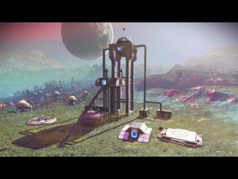Harvesting cosmic radiation for convenient home use! - No Man's Sky