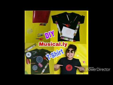 DIY Musically T-shirt
