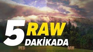 RAW Fotoğraf Nedir? Neden RAW Çekmeliyiz? | RAW vs JPEG