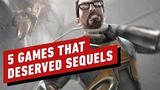 5 Video Games That Deserved Sequels