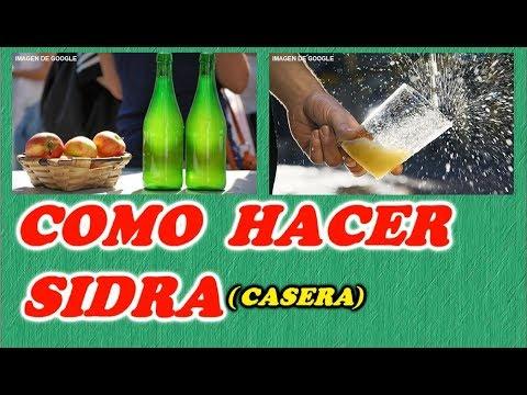 Como Hacer Sidra Casera //Todo Huerta Y Jardín