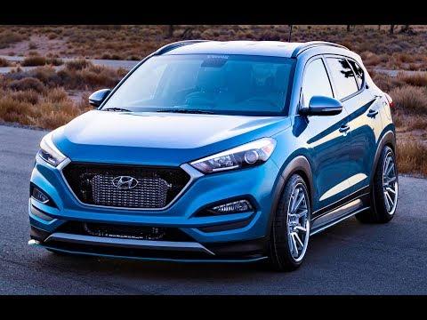 Hyundai Tucson Sport concept Vaccar Design Driving
