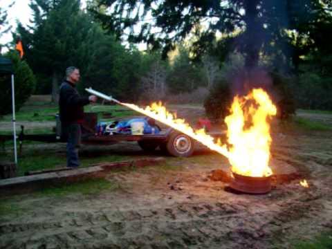 Flame Thrower Weed - Garden Design Ideas