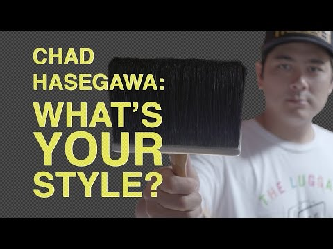 Chad Hasegawa, How a Fine Artist Uses House Paint: What's Your Style? | KQED Arts