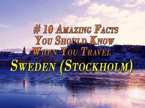 Travel Stockholm, Sweden| Travocoaster| Travel Facts