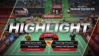 Dioda Kanza/Harum Dinar (Jaya Raya Jakarta) VS Fenta Age P/Johanes Aldi Djunadi (Exist Jakarta)