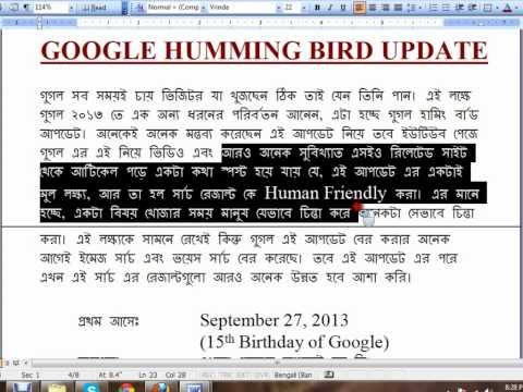 Google all algorithm update serially- IT-Bari Tutorials