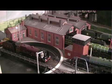 LMS  00 Gauge Model Railway 2012
