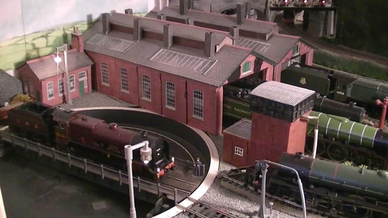 Lms 00 Gauge Model Railway 2012 Youtube