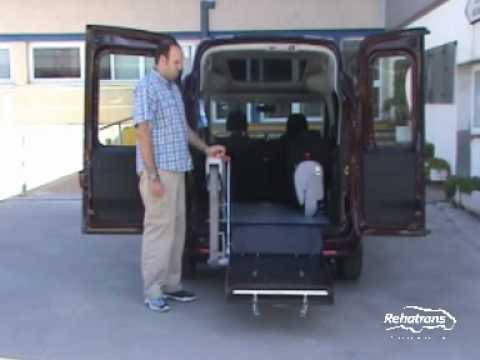 fiat doblo plataforma y techo elevado youtube. Black Bedroom Furniture Sets. Home Design Ideas