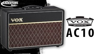 Vox AC10 Guitar Amp Review