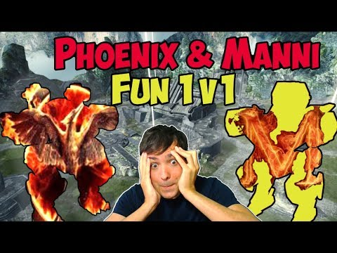 War Robots Phoenix & Manni Fun-1on1 - Custom Match Live-Export