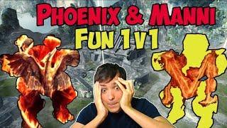 War Robots Phoenix & Manni Fun-1on1 - Custom Match Live-Export