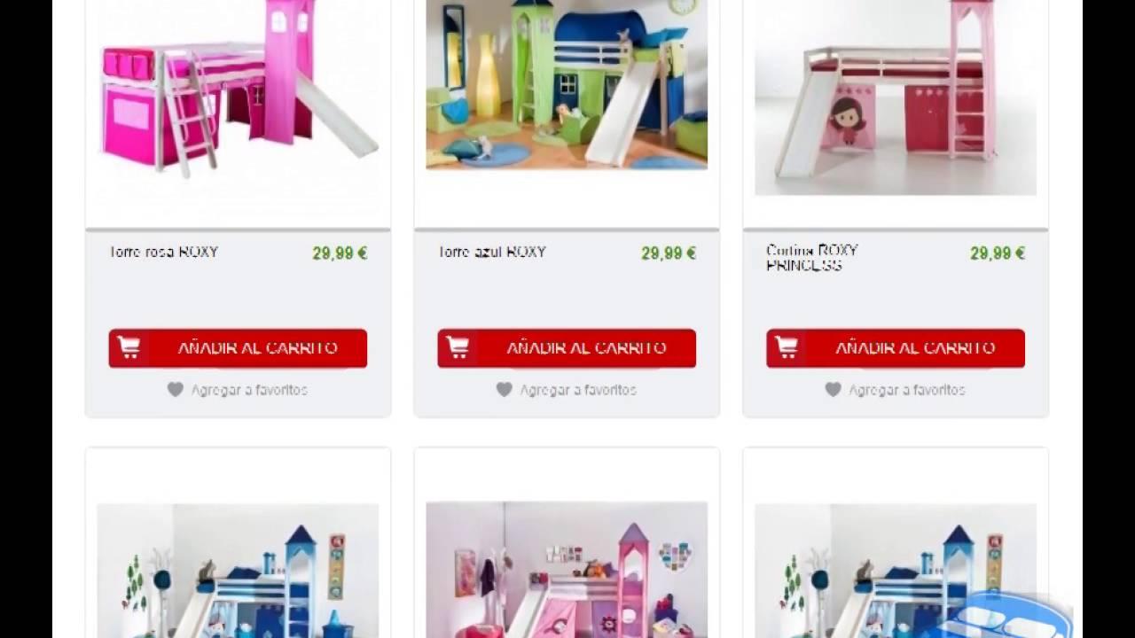 Literas Y Mezzanines Para Niños En Conforama Youtube