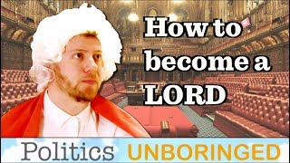 How do you become a Lord?