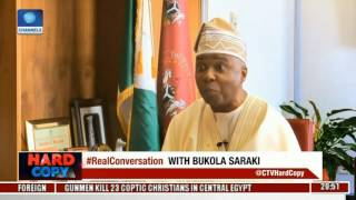 Hard Copy: Discussing Morality Of Resignation Over CCT Trial With Bukola Saraki