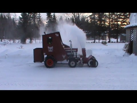 Massey Ferguson Snow Blower Youtube