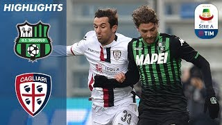 Sassuolo 3-0 Cagliari   Sassuolo Cruise to Victory!   Serie A