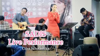 Citra Scholastika - Sadis Live Performance at KFC Kemang, Jakarta