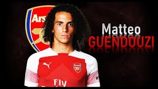 MATTEO GUENDOUZI | WELCOME TO ARSENAL! | Skills, Passing, Assists