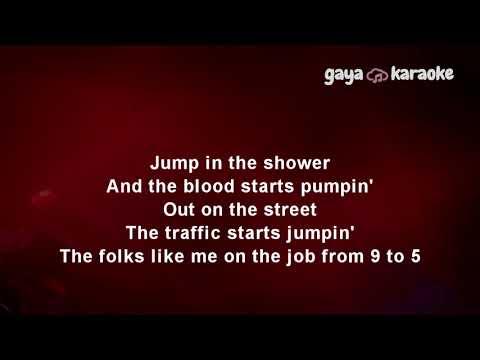Nine to five Karaoke lower key