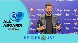 Eurovision 2018 - Albania - Eugent Bushpepa - Be Curious !