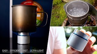 How To Make an Alcohol Stove - EASY, EFFICIENT & ULTRALIGHT!