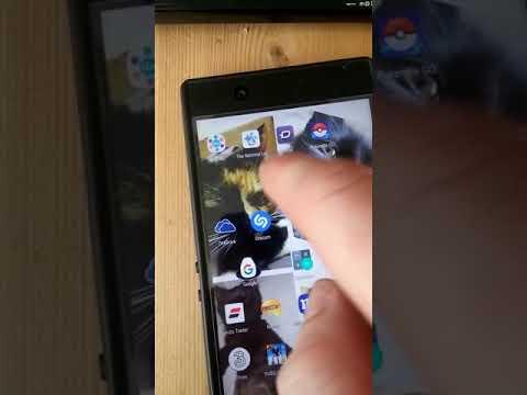 Razer phone screen not responding to touch